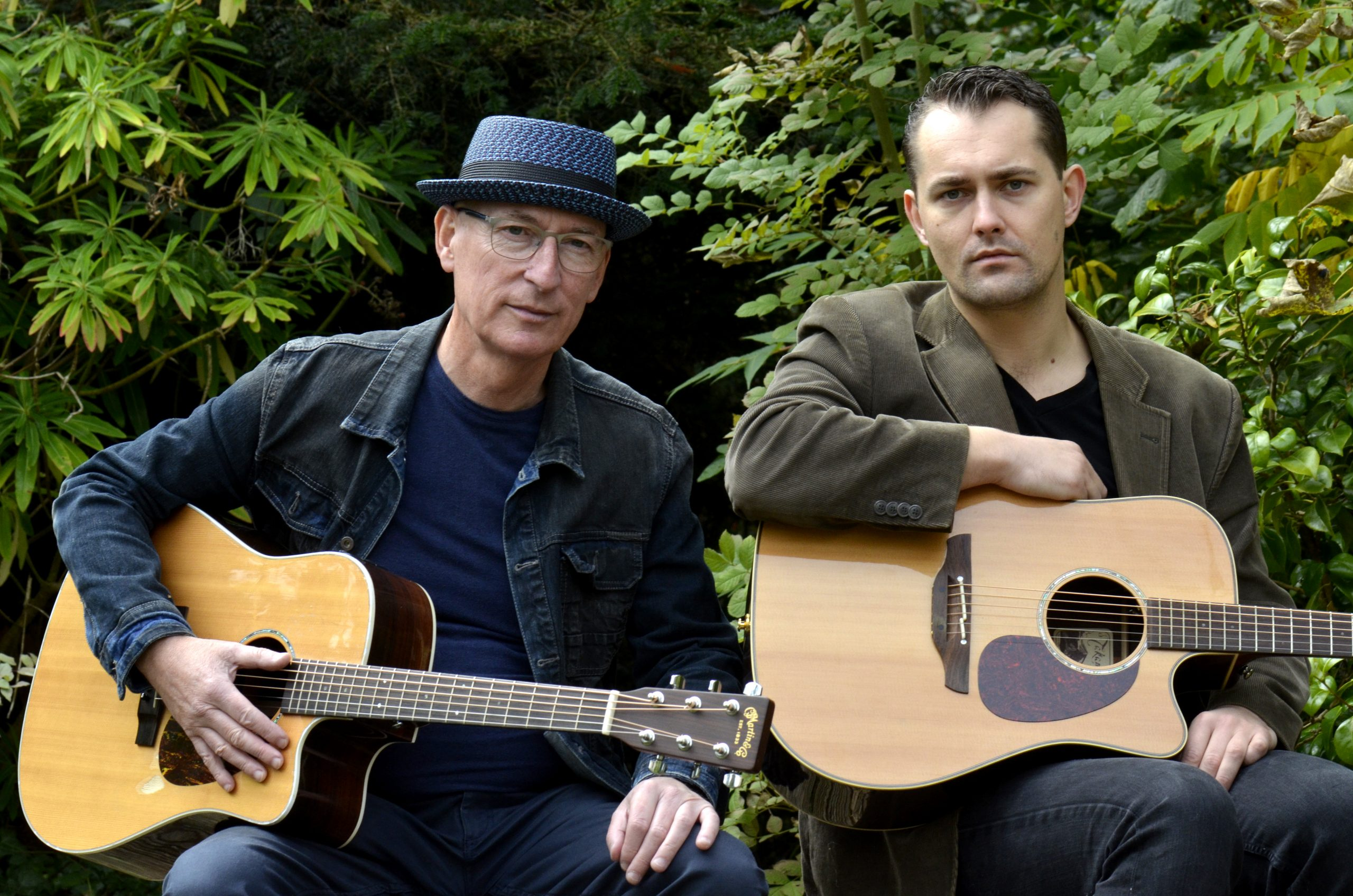 """Liam Merriman & Bill Stuart,  """"A musical match made in heaven"""", play  Central Arts in December"""