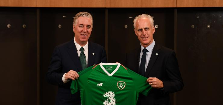 Mick McCarthy is the new Republic of Ireland Manager with Stephen Kenny with taking over as U-21 Manager.