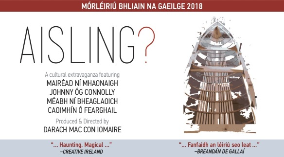 """Listen back: """"Aisling?"""" coming to Theatre Royal is being described as a cultural extravaganza"""