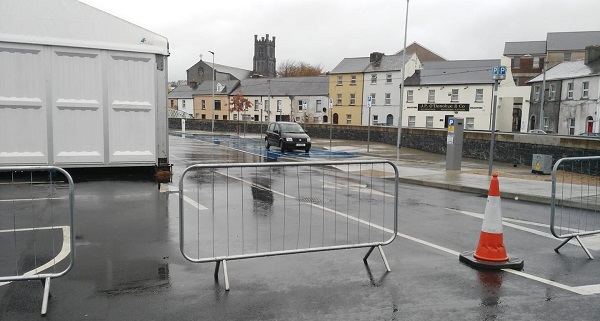 A Fianna Fail Councillor in Waterford says he hopes the relocation of disability parking spaces in the City Centre is just a misunderstanding.