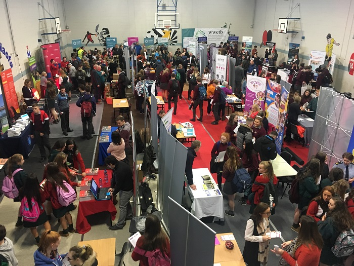 Array of options on show at the Dungarvan Jobs Expo