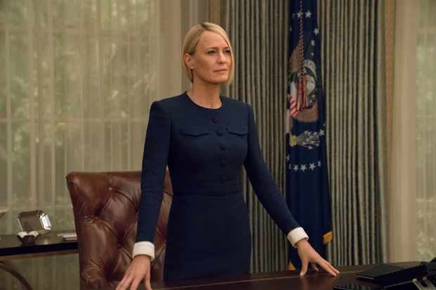 """Listen back: Robin Wright is now in the hot seat of """"House of Cards,"""" as Jenny reviews S6 on The Big Breakfast Blaa"""