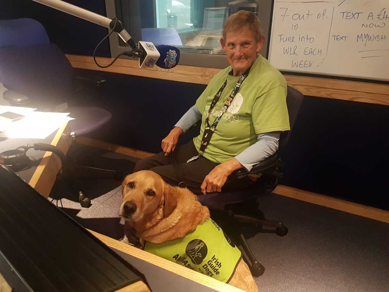 Listen back: Jill McElroy, local volunteer with the Irish Guide Dogs Association, tells us about an upcoming fundraiser