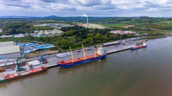 Revenue seize cigarettes from cargo vessel in Waterford