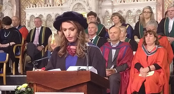 Vicky Phelan receives honorary fellowship from Waterford Institute of Technology