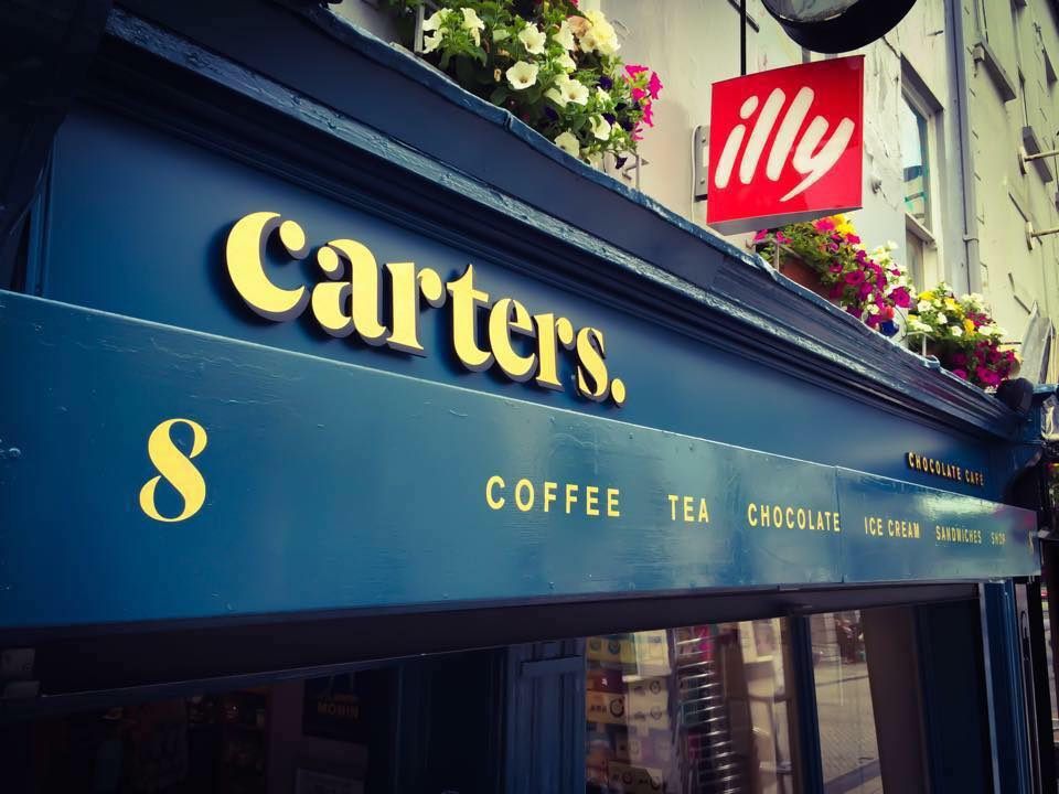We're live from Carters Chocolate Cafe this Saturday