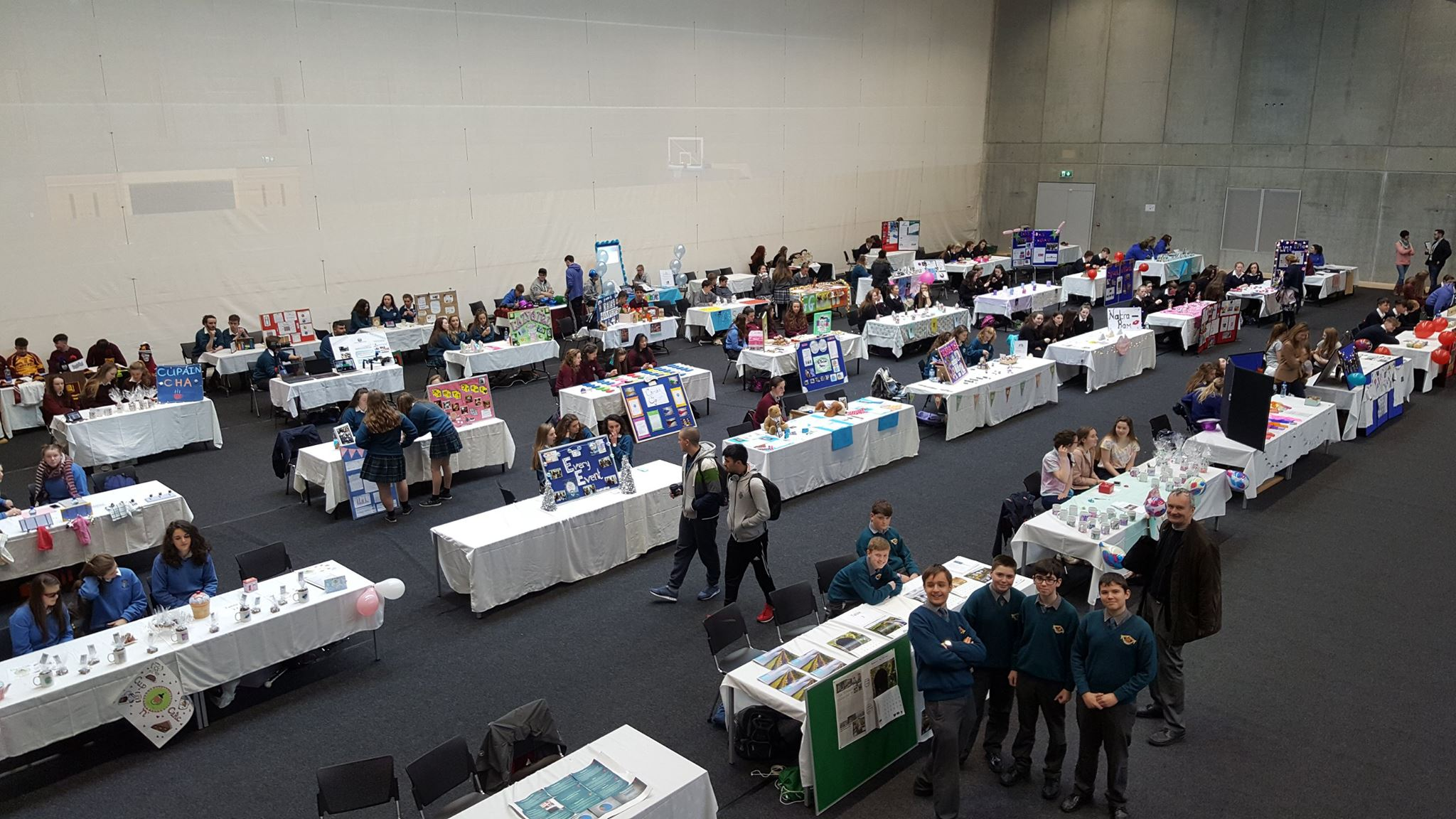 We're live from the LEO Waterford Student Enterprise Expo this Thursday