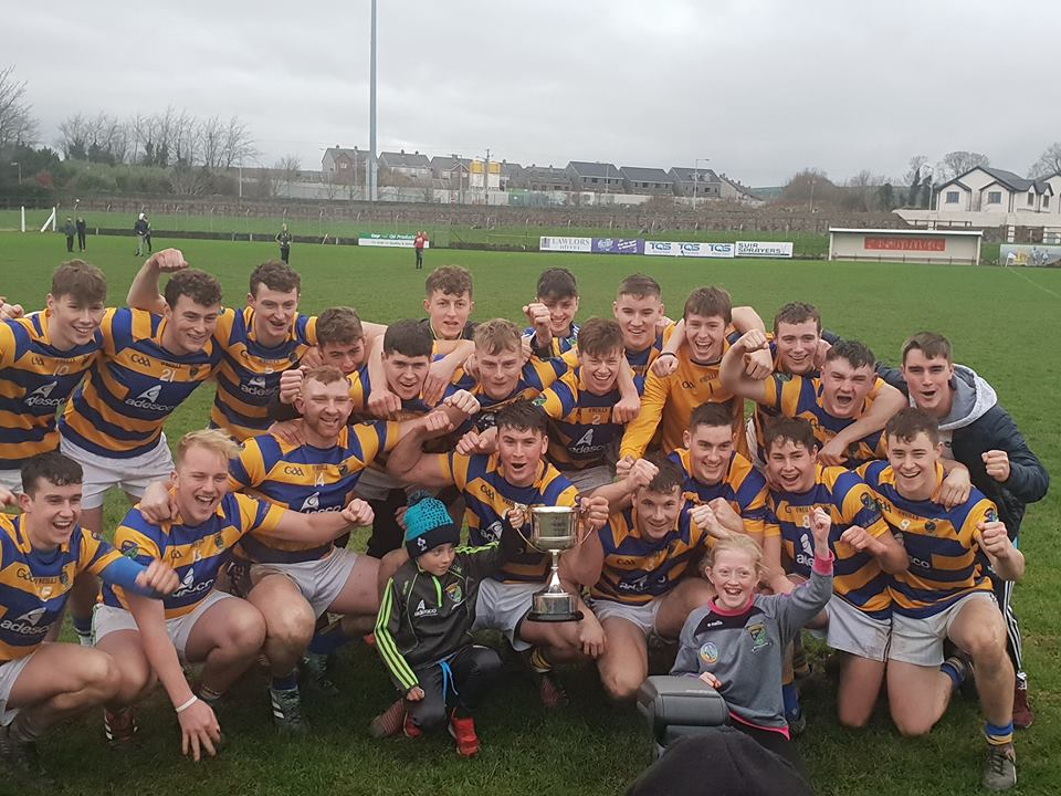 ABBEYSIDE CROWNED COUNTY U-21 HURLING CHAMPIONS