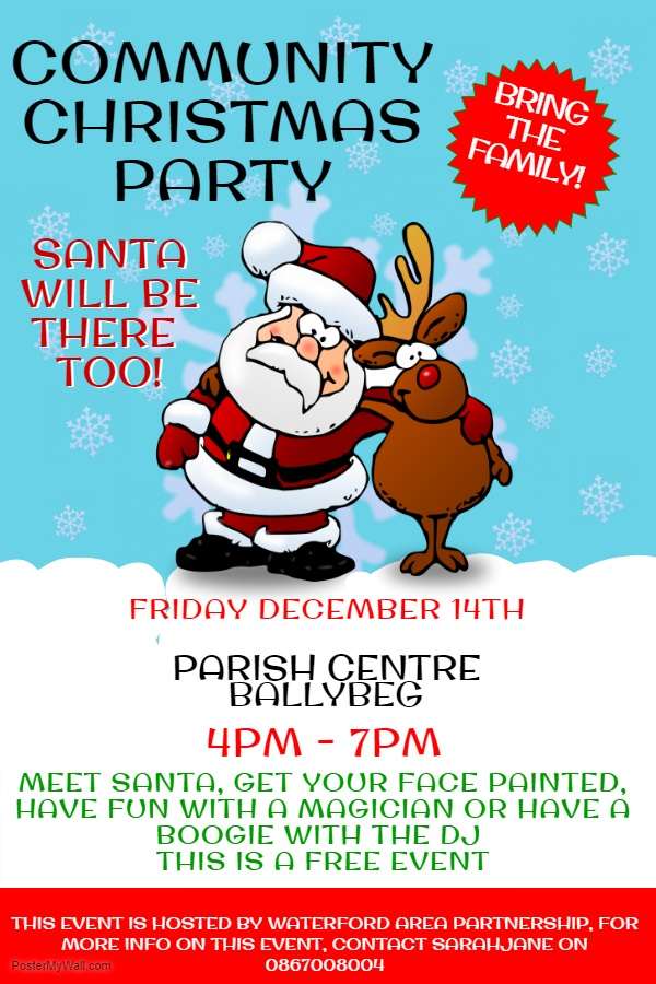 Community Christmas Party - December 14th