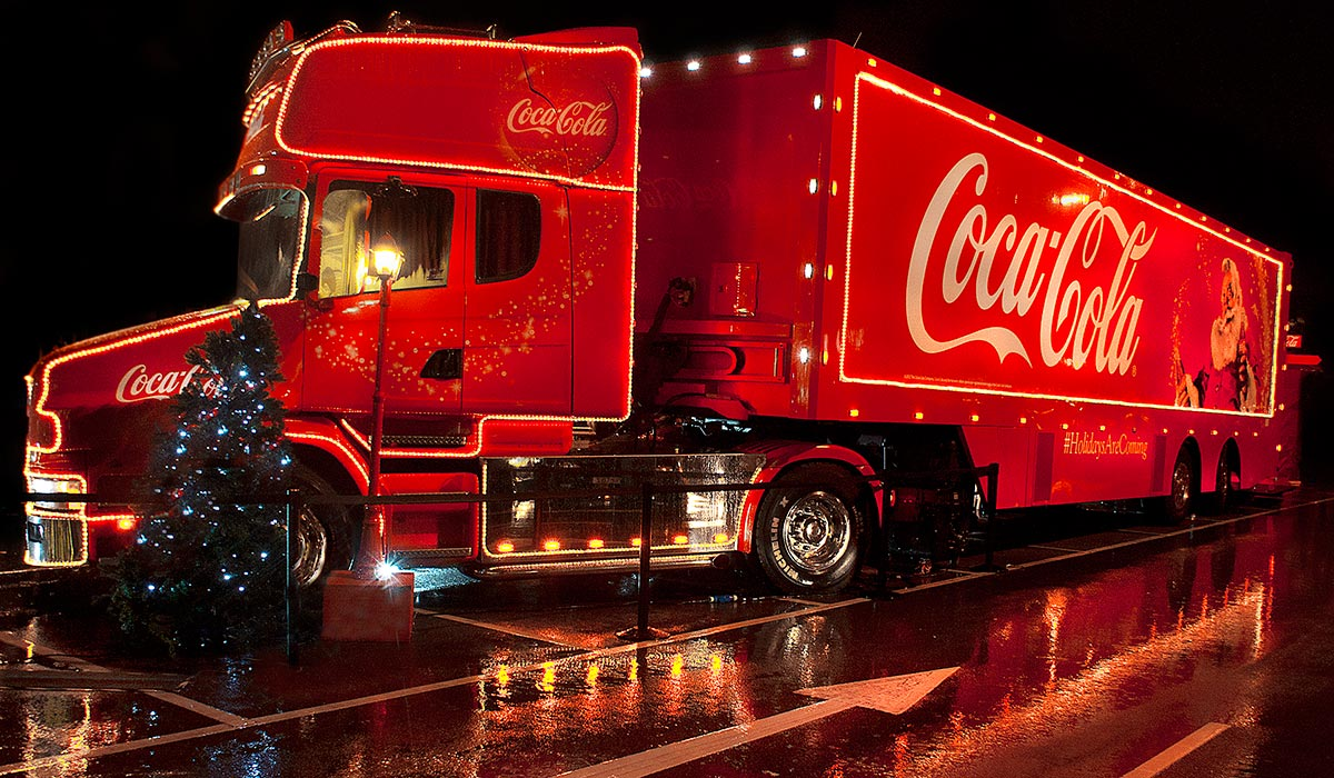 The Coca-Cola Truck is coming to Waterford this Sunday