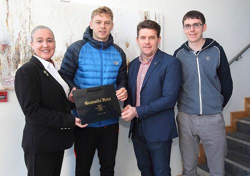 Philip Mahony wins November WLR Granville Hotel GAA award.