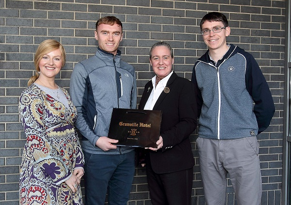 Ballygunner ace Pauric Mahony is the WLR Granville Hotel GAA Award winner for the month of October