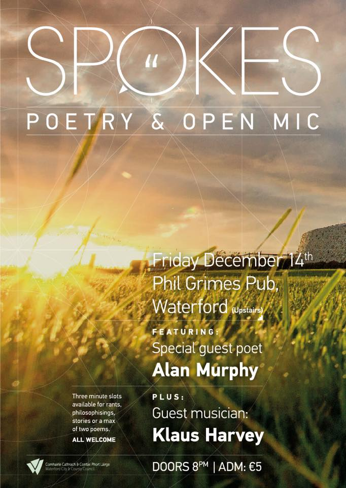 Listen back: A Spokes Poetry and Open Mic night is coming to Phil Grimes Pub, to celebrate the Winter Solstice..