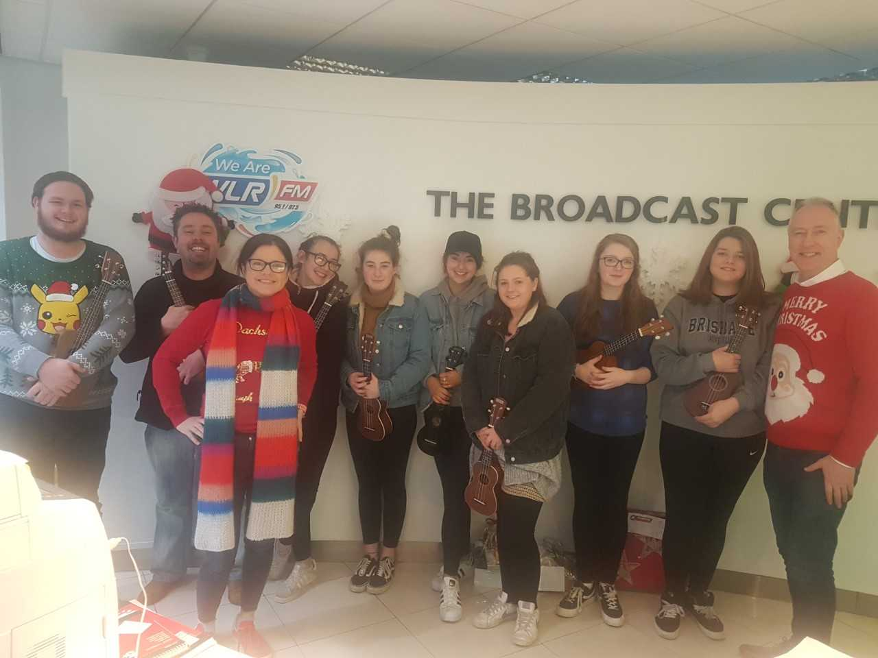Listen back: The Big Breakfast Blaa brought the 'Ukeleleans' from WAMA on air for Christmas Eve..