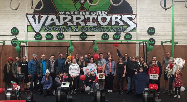 Over €20k and counting raised by 'Waterford Warriors' for the WLR Christmas Appeal