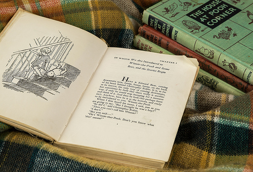 Celebrate  the birthday of A.A. Milne - Friday January 18th