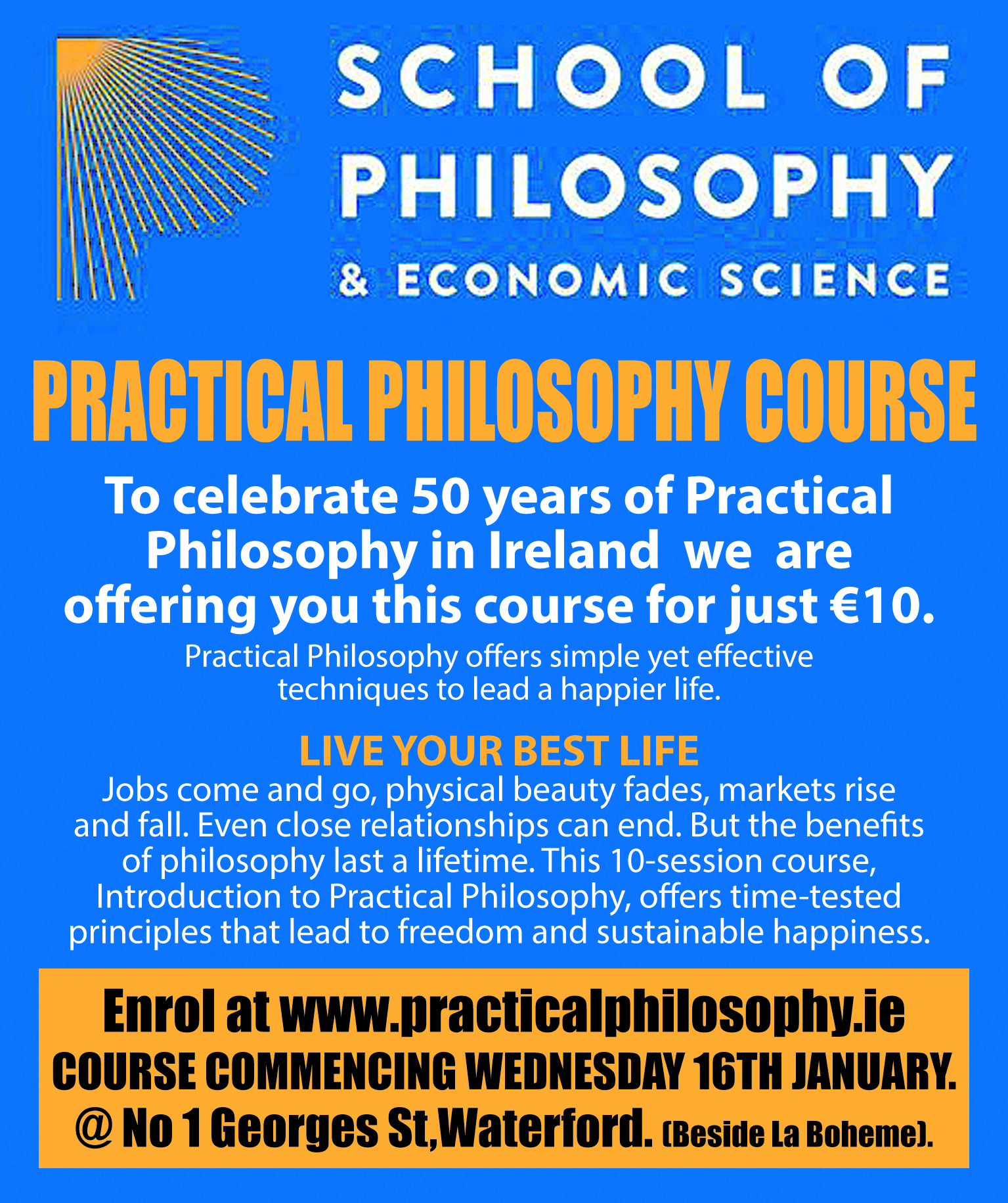 Introduction to Philosophy- Wednesday January 16th