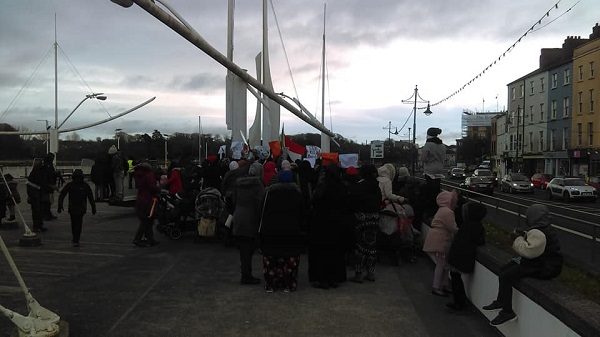 Demo in solidarity with Sudanese protesters takes place in Waterford