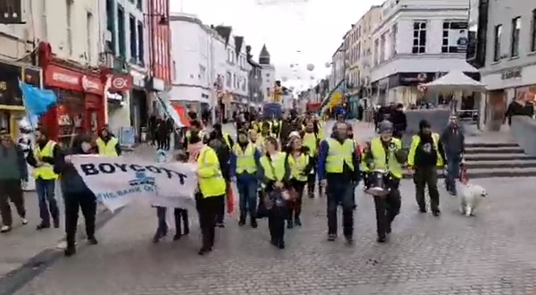 Yellow Vest protest takes place in Waterford
