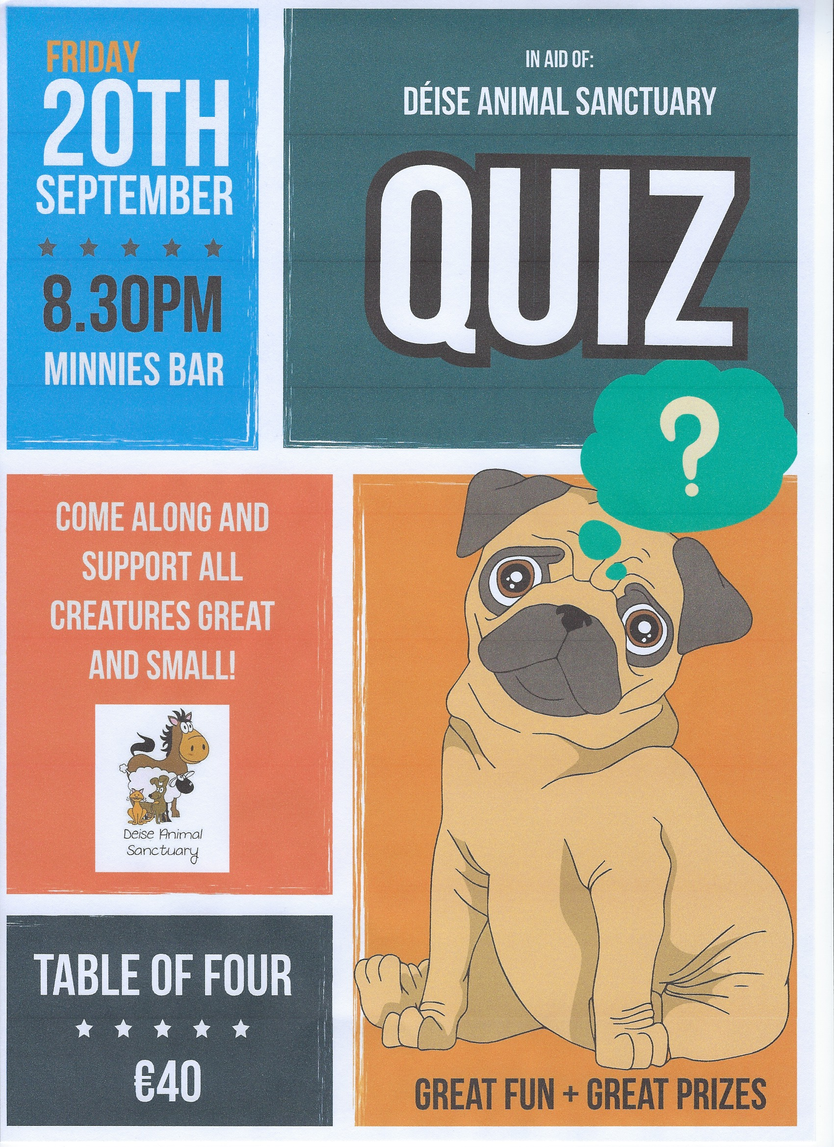 Deise Animal Sanctuary Quiz – Friday September 20th | WLR