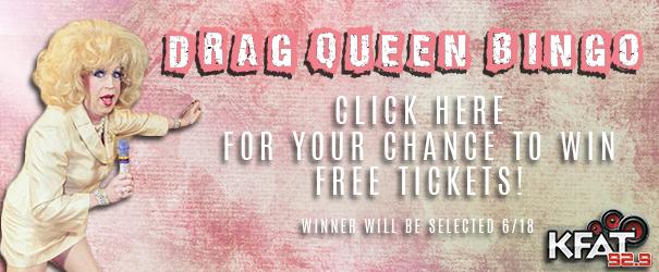 Feature: https://929kfat.com/drag-queen-bingo