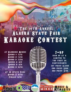 c4f099a41 The 10th Annual Alaska State Fair Karaoke Contest! Your chance to win   1