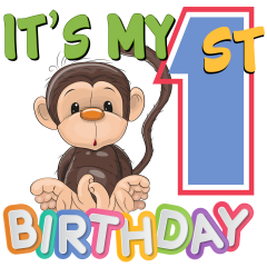 95.7 The Monkey's 1st Birthday Party this FRIDAY 6/1 at Lincoln Park starting at 11:30.