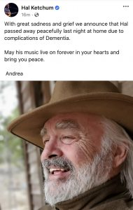 viom ljtebvtlm https kokefm com 2020 11 24 hal ketchum has passed away