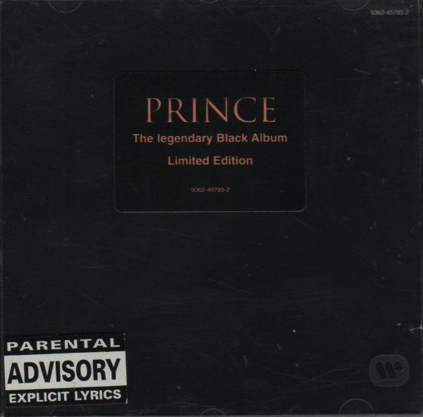 "MUSIC NEWS: Music's rarest vinyl, Prince's ""Black Album"", resurfaces for the first time in 30 years"