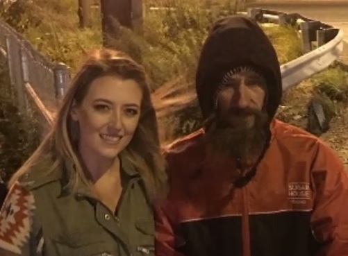 Woman raises money for homeless veteran that gave last 20 dollars to help her