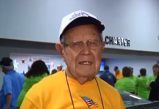 Burlington reception for 4,000th Honor Flight Veteran