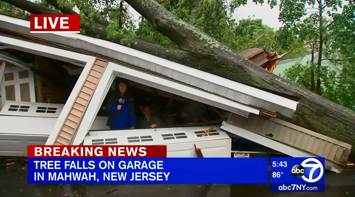 New York City area severe weather