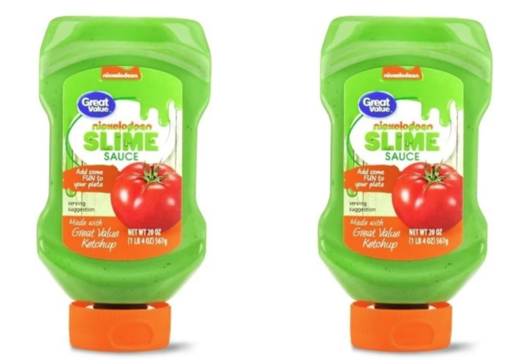 Nickelodeon green slime ketchup returns?!