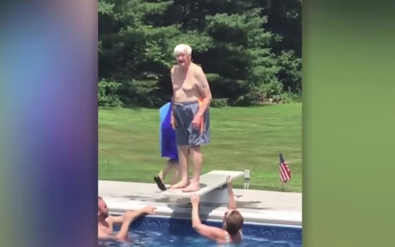 95-year-old WWII and Korean War veteran teaches boy bravery