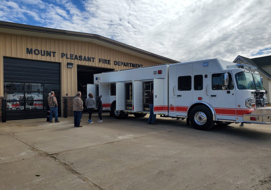 Shottenkirk Mount Pleasant Iowa >> New heavy rescue / fire truck for Mount Pleasant | The New ...