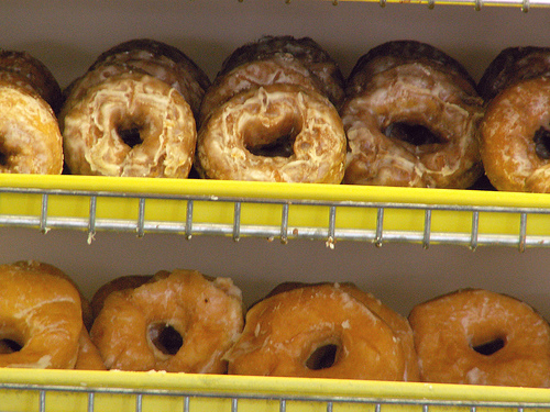 Eating Donuts Scored One Man $37,500...In Pain and Suffering