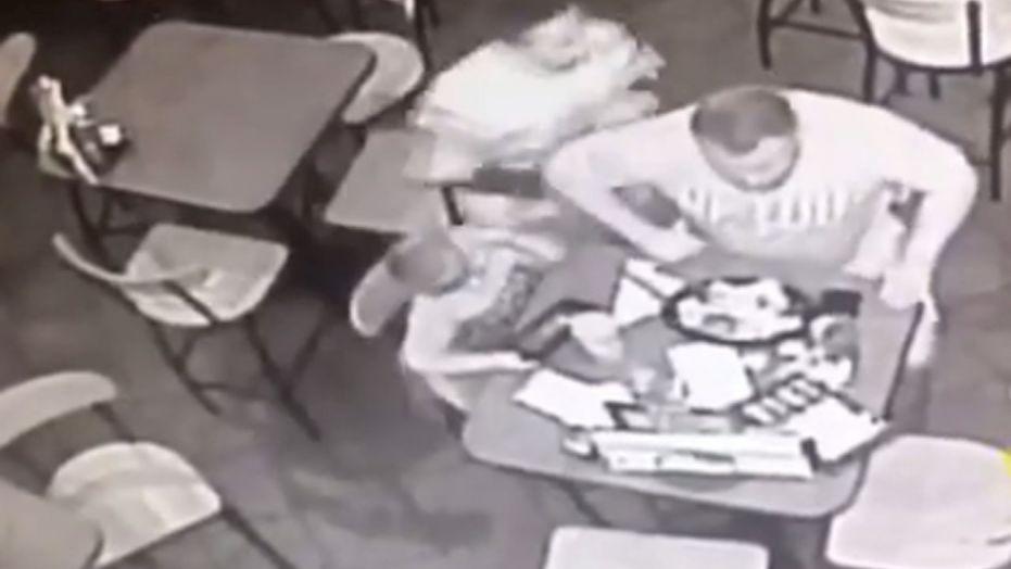Off Duty Trooper Saves Choking Man