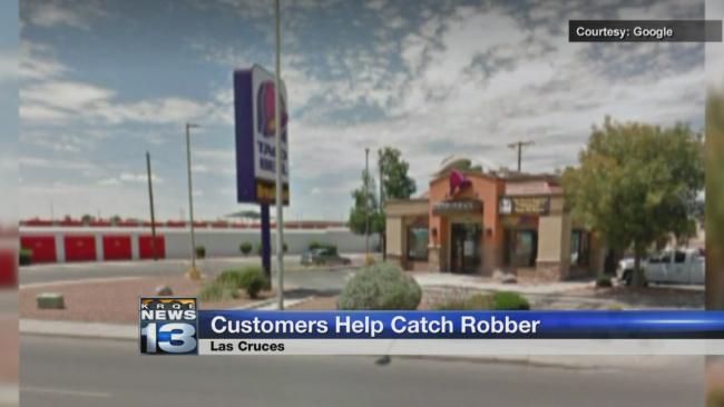 Customers Help Cops Catch Burglar