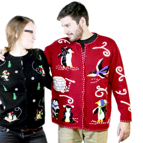 Who Wants Wine With Their Holiday Sweater?!? (I slowly raise my hand)