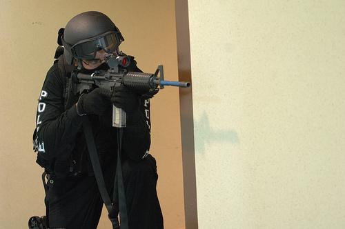 TRENDING: Video Shows Officer Pointing Gun At Kids