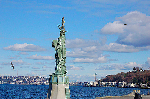 ICYMI Video of Police Capturing Statue of Liberty Protester