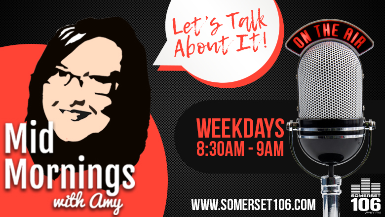 Feature: https://www.somerset106.com/mid-mornings-with-amy/