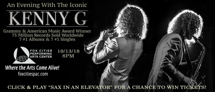 CONTEST: Win tickets to see Kenny G at the Fox Cities PAC