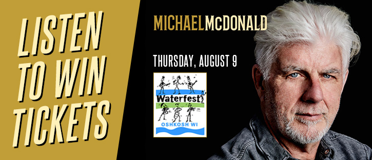 CONTEST: Michael McDonald at Waterfest
