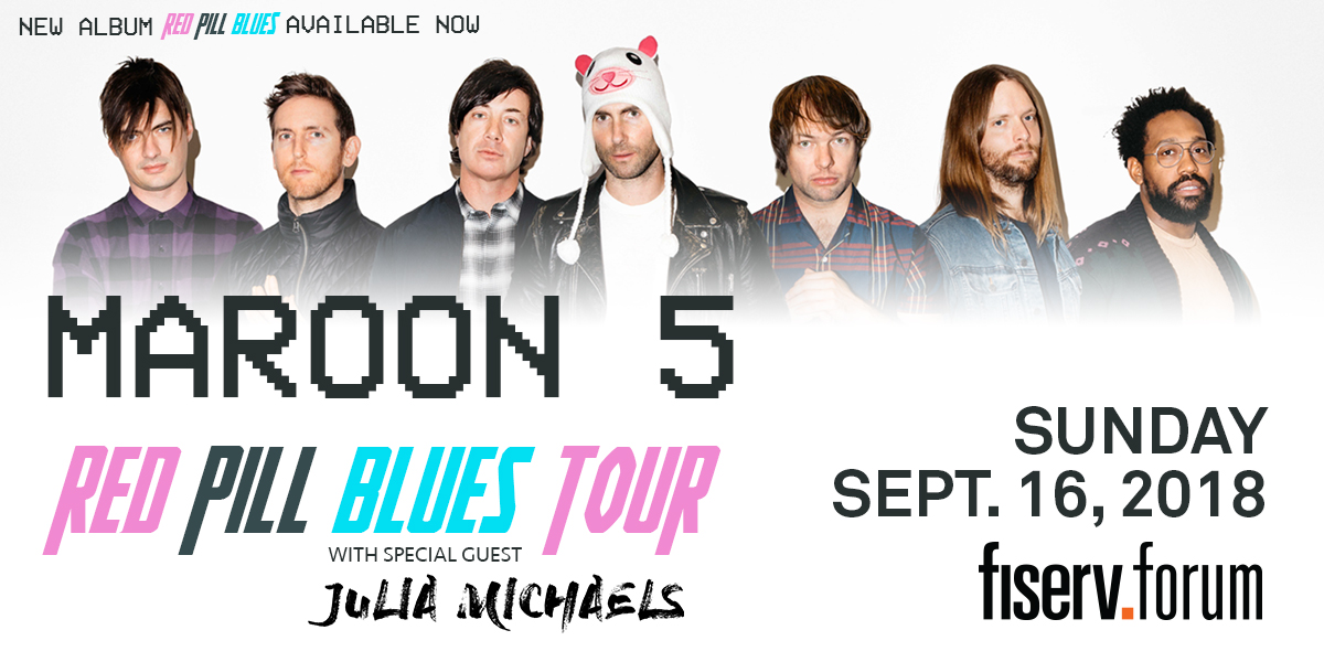 CONTEST: Maroon 5 in MKE – LAST CHANCE