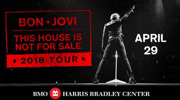 CONTEST: House of Hair Weekend: Bon Jovi at the BMO Harris Bradley Center