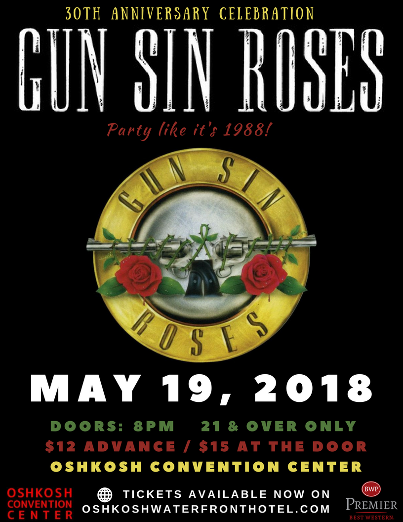 CONTEST: Win tickets see to Gun Sin Roses