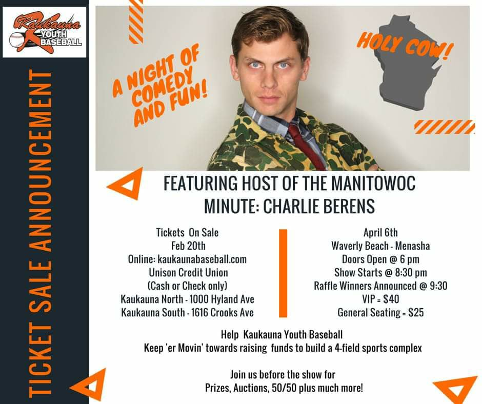 Manitowoc Minute's Charlie Berens at Waverly
