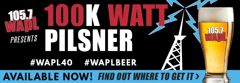 Feature: http://www.wapl.com/wapl-100k-watt-pilsner/