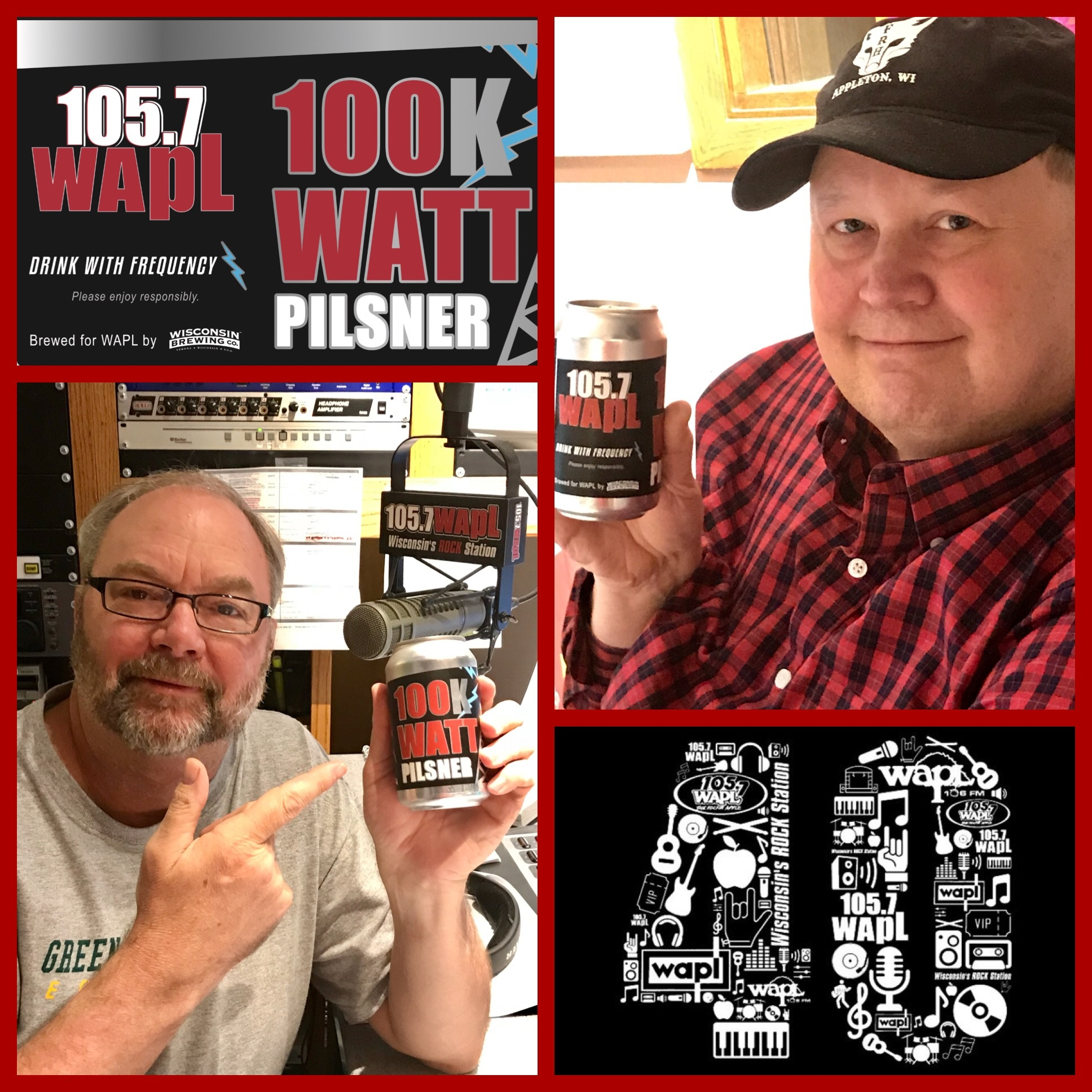 Rick and Len Approve of the New WAPL 100K Watt Pilsner